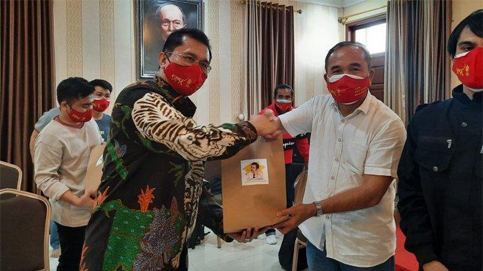 Hakim PT TUN DKI Kirim 22 Ribu Masker ke Nias Selatan Sumatera Utara